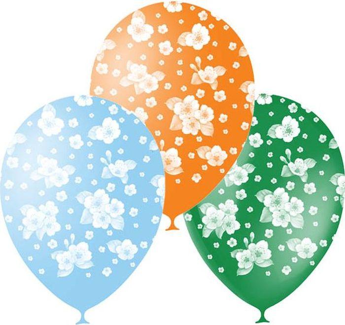 Шарик воздушный Сакура 25 шт шарик воздушный совет да любовь 25 шт