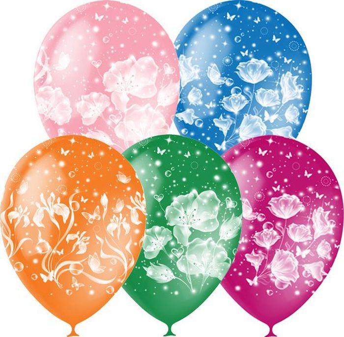Шарик воздушный Фантазия 25 шт даниссимо йогурт густой фантазия ягодные шарики 6 9% 105 г