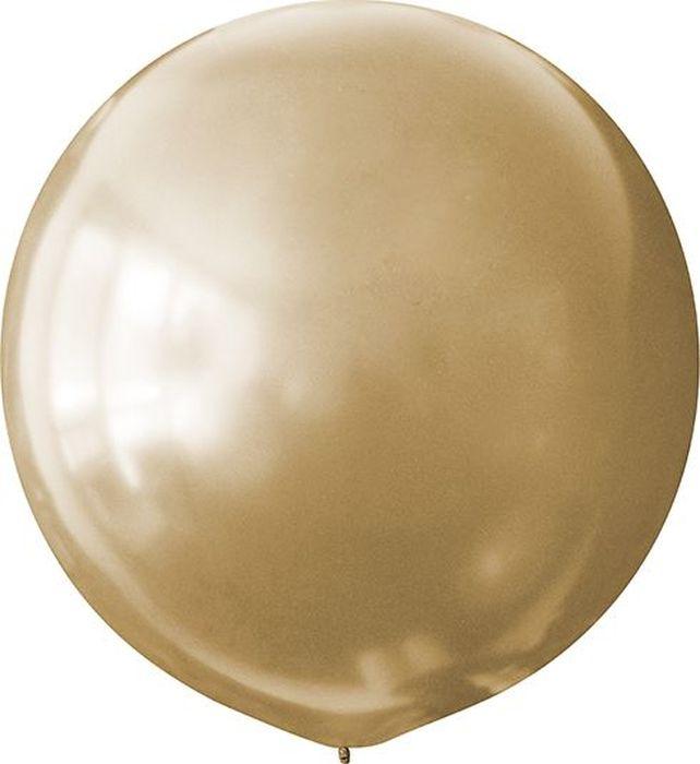 Latex Occidental Шарик воздушный Металлик цвет золотой летающие шары