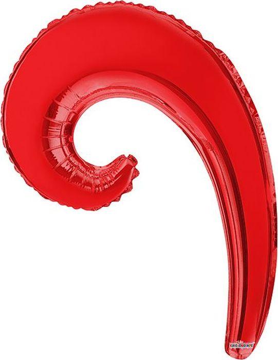 Конвер Шарик воздушный Волна цвет красный овальные натуральный жемчуг шарик нити слива 13 14x7 8 мм отверстие 0 8 мм около 38 40 шт нитка 13 7