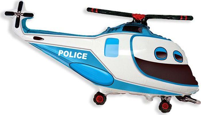 Флексметал Шарик воздушный Полицейский вертолет Флексметал
