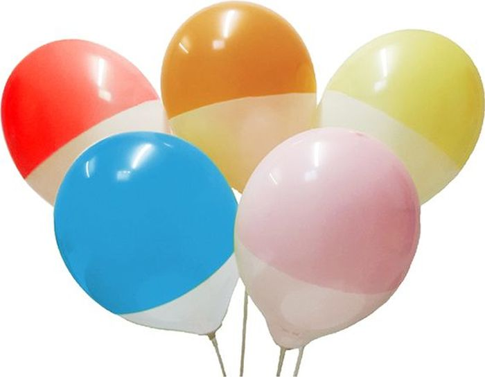 Latex Occidental Набор воздушных шариков Пастель цвет Bicolor 25 шт воздушные шары everts набор шариков 25 шт