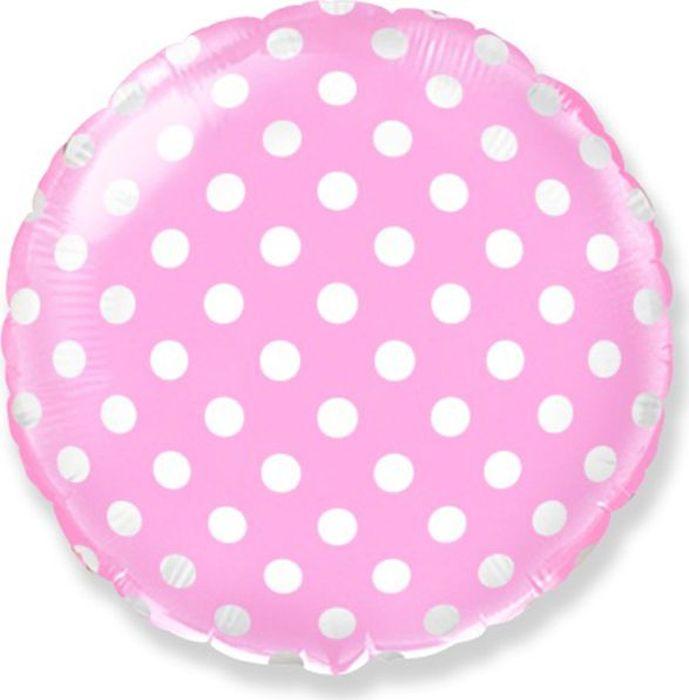 Флексметал Шарик воздушный Горошек цвет розовый флексметал шарик воздушный принцесса