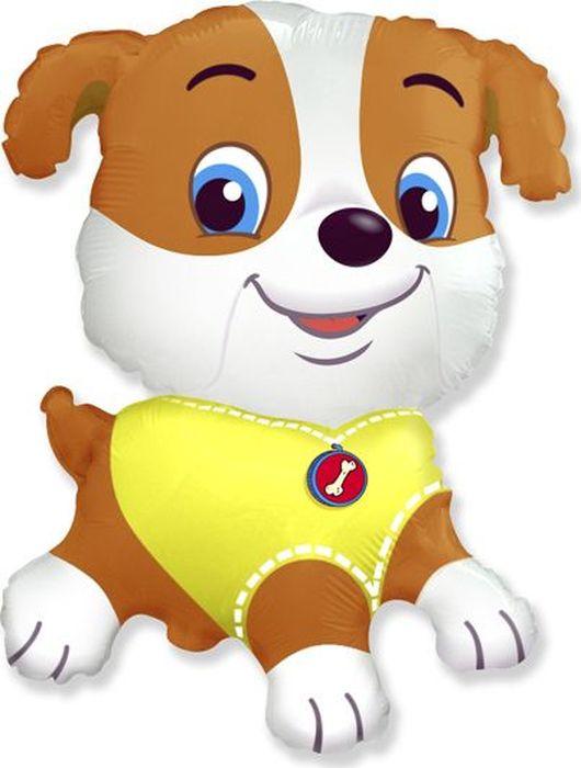 Флексметал Шарик воздушный Бульдог щенок -  Воздушные шарики