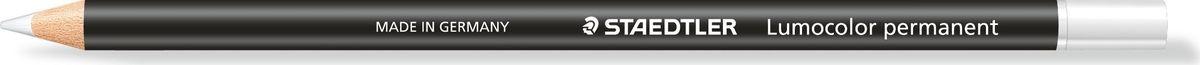 Staedtler Карандаш перманентный Lumocolor Glasochrom цвет белый10820-0Сухой перманентный карандаш, водостойкий, в деревянном корпусе пишет практически на любой поверхности: бумага, пластик, стекло, камень, кожа, металл и т.д. Не просачивается сквозь бумагу. Не оказывает отрицательного влияния на поверхность.Диаметр грифеля - 3,5 -3,7 мм
