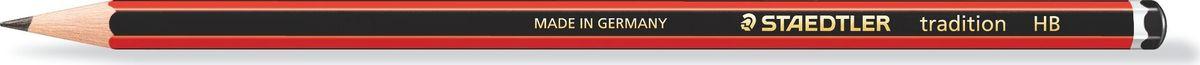 Staedtler Карандаш Tradition HB110-HBЧернографитовый карандаш с шестригранной формой корпуса tradition 110 для письма, черчения и набросков.Степень твердости - HB (твердо-мягкий). Диаметр грифеля - 2 мм. Непревзойденная устойчивость к поломке благодаря специально разработанному составу грифеля и особой проклейке.