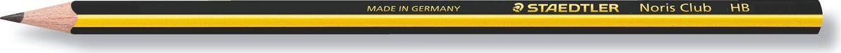 Staedtler Карандаш Noris Club НВ11810Высококачественный карандаш эргономичной трехгранной формы для удобного и легкого письма. Непревзойденная устойчивость к поломке благодаря специально разработанному составу грифеля и особой проклейке. Грифель HB (твердо-мягкий). Диаметр грифеля - 2 мм. При производстве используется древесина сертифицированных и специально подготовленных лесов.