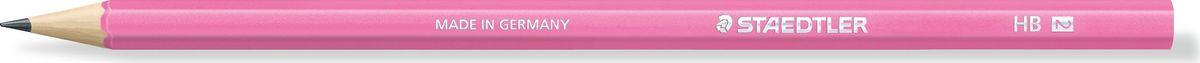 Staedtler Карандаш Wopex HB цвет корпуса розовый180HB-F20Чернографитовый карандаш в ярком корпусе розового неонового цвета. Изготовлен из уникального природного материала Wopex (70% древесины+ 30% пластиковый композит). Однородный материал WOPEX обеспечивает исключительно гладкую и ровную заточку . При производсстве используется PEFC-сертифицированная древесина из постоянно возобновляемых лесов. Степень твердости - HB. Нескользящая, ударопрочная, бархатистая поверхность; эргономичная шестигранная форма корпуса; гладкое письмо; длина письма в два раза больше, чем у обычного карандаша в деревянном корпусе.