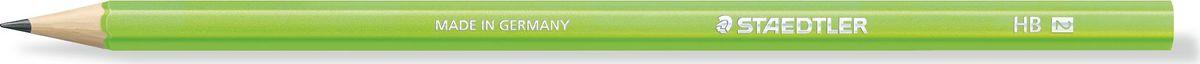 Staedtler Карандаш Wopex HB цвет корпуса зеленый180HB-F50Чернографитовый карандаш в ярком корпусе зеленого неонового цвета. Изготовлен из уникального природного материала Wopex (70% древесины+ 30% пластиковый композит). Однородный материал WOPEX обеспечивает исключительно гладкую и ровную заточку . При производсстве используется PEFC-сертифицированная древесина из постоянно возобновляемых лесов. Степень твердости - HB. Нескользящая, ударопрочная, бархатистая поверхность; эргономичная шестигранная форма корпуса; гладкое письмо; длина письма в два раза больше, чем у обычного карандаша в деревянном корпусе.