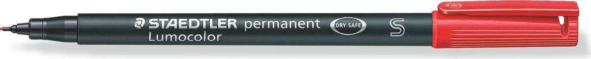 Staedtler Маркер перманентный Lumocolor 0,4 мм цвет чернил красный313-2Универсальный маркер для большинства поверхностей.Подходит для работы с проекторами и на CD/DVD. Превосходная защита от смазывания и водоустойчивые характеристики на большинстве гладких поверхностей. Высыхает в считанные секунды, что делает его идеальным для левшей.Защита от высыхания - может быть оставлен без колпачка на несколько дней. Безопасно для самолетов - автоматическое выравнивание давления предотвращает от вытекания чернил на борту самолета. Толщина линии - F, приблизительно 0,4 мм.