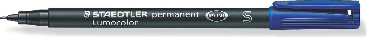 Staedtler Маркер перманентный Lumocolor 0,4 мм цвет чернил синий313-3Универсальный маркер для большинства поверхностей. Толщина линии - S, приблизительно 0,4 мм. Синий цвет чернил. Подходит для работы с проекторами и на CD/DVD. Превосходная защита от смазывания и водоустойчивые характеристики на большинстве гладких поверхностей. Высыхает в считанные секунды, что делает его идеальным для левшей. Перманентные, слабо пахнущие чернила. Корпус и колпачок из полипропилена гарантируют долгий срок службы. Защита от высыхания - может быть оставлен без колпачка на несколько дней. Безопасно для самолетов - автоматическое выравнивание давления предотвращает от вытекания чернил на борту самолета. Чернила без ксилона и толуола.