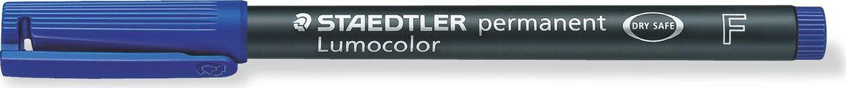 Staedtler Маркер перманентный Lumocolor 0,6 мм цвет чернил синий