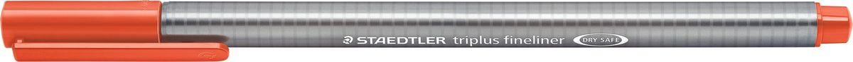 Staedtler Ручка капиллярная Triplus 334 0,3 мм цвет чернил алый 334-24334-24Капиллярная ручка с корпусом из полипропилена и эргономичной трехгранной формой для удобного и легкого письма. Пишущий узел завальцован в металл. Чернила на водной основе отстирываются с большинства тканей. Можно оставить без колпачка на 18 часов и не опасаться высыхания.
