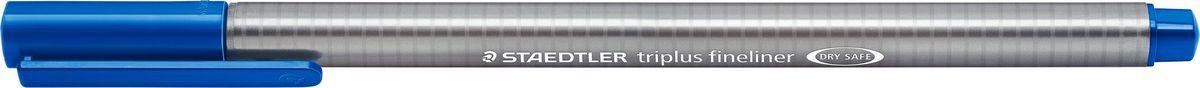 Staedtler Ручка капиллярная Triplus Liner 0,3 мм цвет чернил синий334-3Капиллярная ручка triplus 334 серии. Цвет синий. Эргономичная трехгранная форма для удобного и легкого письма. Пишущий узел завальцован в металл. Защита от высыхания - может быть оставлен без колпачка на несколько дней (тест ISO). Чернила на водной основе. Остирывается с большинства тканей. Корпус из полипропилена гарантирует долгий срок службы. Толщина линиии примерно 0,3 мм.