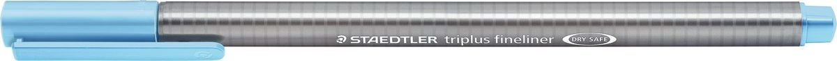 Staedtler Ручка капиллярная Triplus 334 0,3 мм цвет чернил морской волны334-34Капиллярная ручка triplus 334 серии. Цвет морской волны. Эргономичная трехранная форма для удобного и легкого письма. Пишущий узел завальцован в металл. Защита от высыхания - может быть оставлен без колпачка на несколько дней (тест ISO). Чернила на водной основе. Остирывается с большинства тканей. Корпус из полипропилена гарантирует долгий срок службы. Толщина линиии примерно 0,3 мм.