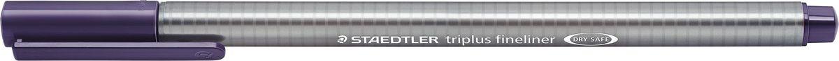Staedtler Ручка капиллярная Triplus 334 0,3 мм цвет чернил индиго334-36Капиллярная ручка triplus 334 серии. Цвет индиго. Эргономичная трехгранная форма для удобного и легкого письма. Пишущий узел завальцован в металл. Защита от высыхания - может быть оставлен без колпачка на несколько дней (тест ISO). Чернила на водной основе. Остирывается с большинства тканей. Корпус из полипропилена гарантирует долгий срок службы. Толщина линиии примерно 0,3 мм.