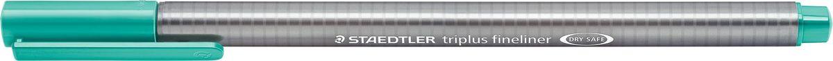Staedtler Ручка капиллярная Triplus 334 0,3 мм цвет чернил зеленый французский334-54Капиллярная ручка triplus 334 серии. Цвет зеленый французский. Эргономичная трехгранная форма для удобного и легкого письма. Пишущий узел завальцован в металл. Защита от высыхания - может быть оставлен без колпачка на несколько дней (тест ISO). Чернила на водной основе. Остирывается с большинства тканей. Корпус из полипропилена гарантирует долгий срок службы. Толщина линиии примерно 0,3 мм.