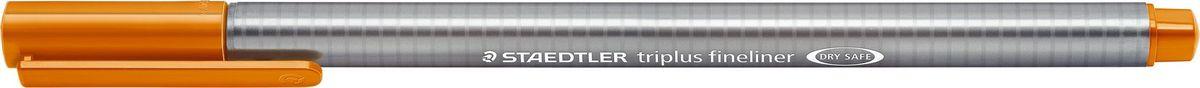 Staedtler Ручка капиллярная Triplus 334 0,3 мм цвет чернил светло-коричневый334-7Капиллярная ручка triplus 334 серии. Цвет светло-коричневый. Эргономичная трехгранная форма для удобного и легкого письма. Пишущий узел завальцован в металл. Защита от высыхания - может быть оставлен без колпачка на несколько дней (тест ISO). Чернила на водной основе. Остирывается с большинства тканей. Корпус из полипропилена гарантирует долгий срок службы. Толщина линиии примерно 0,3 мм.
