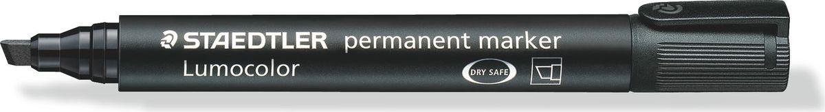 Staedtler Маркер перманентный Lumocolor 2-5 мм цвет чернил черный350-902Перманентный маркер со скошенным пишущим узлом позволяет проводить линии от 2-5 мм. Превосходная защита от смазывания и водоустойчивые характеристики на большинстве гладких поверхностей. Высыхает в считанные секунды, что делает его идеальным для левшей. Светоустойчивый (гарантия сохранности цвета на бумаге 10 лет). Устойчивый к воздействиям окружающей среды. Корпус и колпачок из полипропилена гарантируют долгий срок службы. Защита от высыхания - может быть оставлен без колпачка на несколько дней. Безопасно для самолетов - автоматическое выравнивание давления предотвращает от вытекания чернил на борту самолета. Чернила без ксилона и толуола.