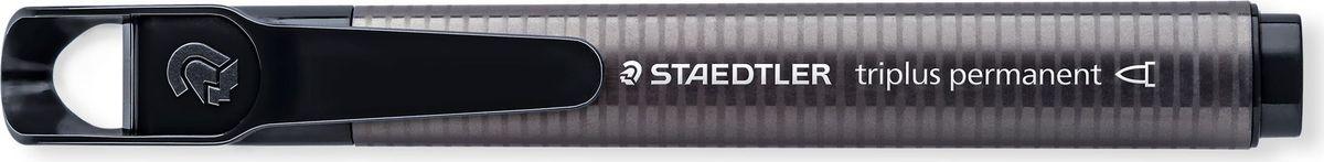 Staedtler Маркер перманентный Triplus 2 мм цвет чернил черный3552-9Знаменитые маркеры Staedtler теперь в новом формате! Эргономичная треугольная форма, колпачок с отверстием для крепления. Непревзойденная яркость цветов! Подходит для большинства поверхностей. Быстро высыхает. Долгий срок службы. Удобство в использовании. Толщина линии 2 мм. Круглая форма пишущего узла. Черный цвет чернил.