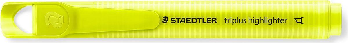 Staedtler Маркер Triplus Highlighter 2-5 мм цвет чернил желтый3654-1Текстовыделители от Staedtler в новом исполнении! Эргономичная трехгранная форма, колпачок с отверстием для крепления. Непревзойденная яркость цветов! Идеален для использования на бумаге, фото- и факсовой бумаге. Быстро высыхает. Долгий срок службы. Удобство в использовании. Толщина линии 2-5 мм. Скошенная форма пишущего узла. Желтый цвет чернил.