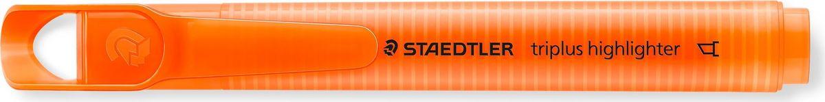 Staedtler Маркер Triplus Highlighter 2-5 мм цвет чернил оранжевый3654-4Текстовыделители от Staedtler в новом исполнении! Эргономичная трехгранная форма, колпачок с отверстием для крепления. Непревзойденная яркость цветов! Идеален для использования на бумаге, фото- и факсовой бумаге. Быстро высыхает. Долгий срок службы. Удобство в использовании. Толщина линии 2-5 мм. Скошенная форма пишущего узла. Оранжевый цвет чернил.