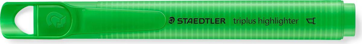 Staedtler Маркер перманентный Triplus Highlighter 2-5 мм цвет чернил зеленый3654-5Маркер перманентный эргономичной трехгранной формы позволяет проводить линии шириной от 2 до 5 мм.Маркер заправлен перманентными чернилами, они быстро высыхают, чернила свето- и влагостойкие. Надписи, сделанные этим маркером,устойчивы к истиранию. Подходит для маркирования на бумаге, картоне, пластике, стекле и металле.