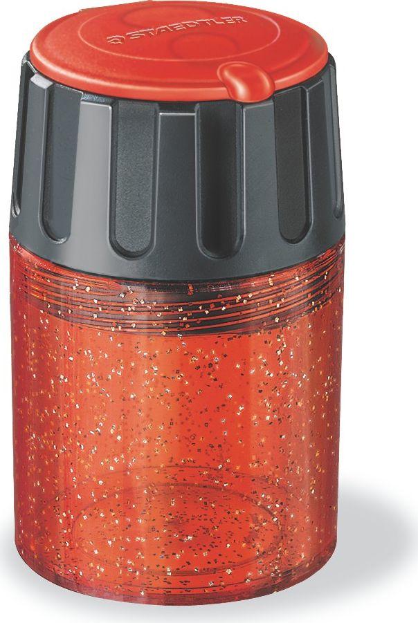 Staedtler Точилка Бочонок 2 гнезда5134Точилка пластиковая с двумя отверстиями. Цвет корпуса - ассорти.Предназначена для чернографитовых карандашей диаметром до 8,2 мм с углом заточки 30° для широких и мягких линий, а также для чернографитовых и цветных карандашей утолщенного диаметра до 11 мм с углом заточки 30°. Металлическая затачивающая часть. Закрытая конструкция предотвращает высыпание мусора во время заточки. Безопасный крепеж крышки.