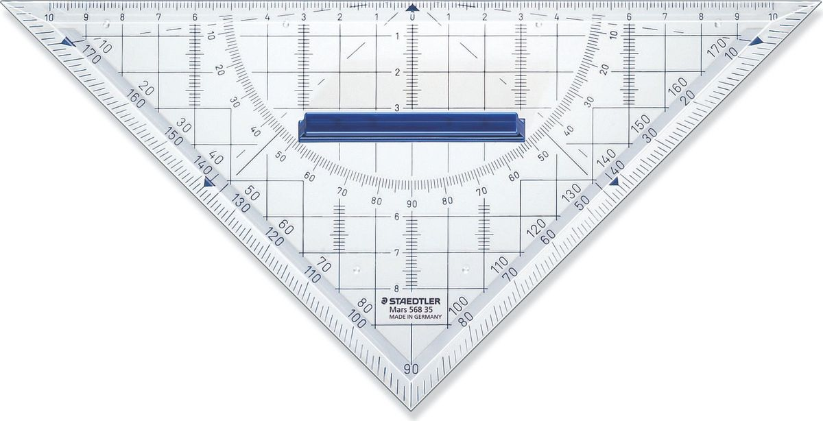 Staedtler Треугольник Mars 568 22 см декоративная виниловая наклейка лабиринт маленький