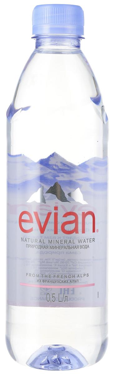 Evian вода минеральная природная столовая негазированная, 0,5 л340023601Evian - природная минеральная вода. Уникальный минеральный состав природной воды Evian способствует поддержанию водного баланса в организме.Источник Evian находится на бережно охраняемой территории, в самом сердце французских Альп. В процессе естественной фильтрации горными породами в течение 15 лет природная минеральная вода Evian приобретает уникальный сбалансированный минеральный состав и, непосредственно у источника, разливается в бутылки.Сколько нужно пить воды: мнение диетолога. Статья OZON Гид