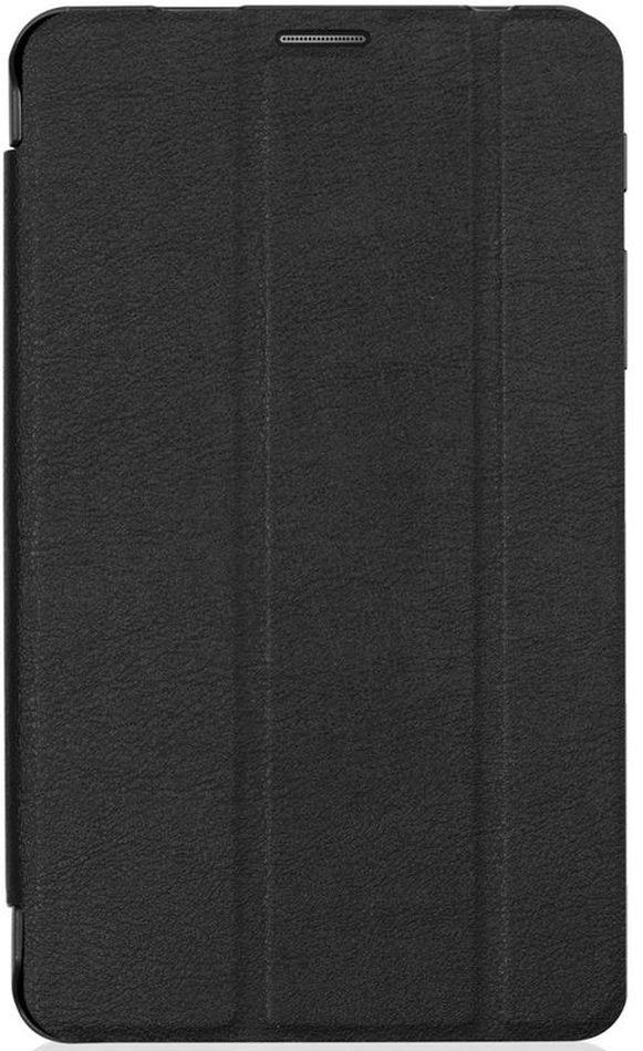 Cross Case EL чехол для Samsung Galaxy Tab A 7.0, BlackEL-4003 blackЧехол для планшета Samsung Galaxy Tab A 7.0 предназначен для защиты устройства от механических повреждений в процессе переноски и эксплуатации. Чехол идеально повторяет контуры планшета и имеет все необходимые вырезы под разъемы, камеры и динамики. Толщина пластика чехла подобрана так, чтобы чехол был максимально легким и в то же время прочным. Конструкция чехла допускает два вида настольной установки.