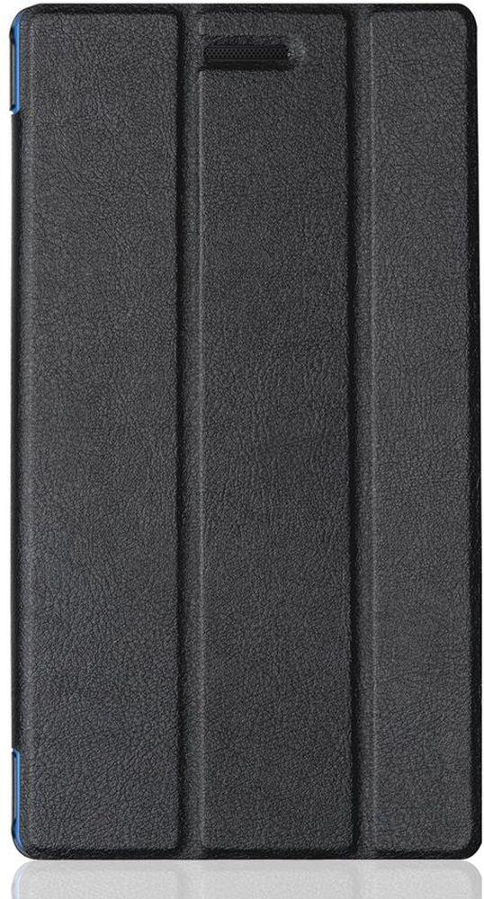 Cross Case EL чехол для Lenovo Tab 3 (730X) 7.0, BlackEL-4007 blackЧехол для планшета Lenovo Tab 3 (730X) 7.0 предназначен для защиты устройства от механических повреждений в процессе переноски и эксплуатации. Чехол идеально повторяет контуры планшета и имеет все необходимые вырезы под разъемы, камеры и динамики. Толщина пластика чехла подобрана так, чтобы чехол был максимально легким и в то же время прочным. Конструкция чехла допускает два вида настольной установки.