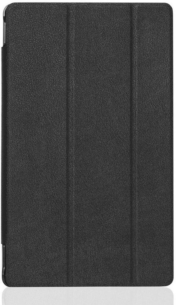 Cross Case EL чехол для Lenovo Tab 3 (8703X) 8.0 Plus, BlackEL-4014 blackЧехол для планшета Lenovo Tab 3 (8703X) 8.0 Plus предназначен для защиты устройства от механических повреждений в процессе переноски и эксплуатации. Чехол идеально повторяет контуры планшета и имеет все необходимые вырезы под разъемы, камеры и динамики. Толщина пластика чехла подобрана так, чтобы чехол был максимально легким и в то же время прочным. Конструкция чехла допускает два вида настольной установки.