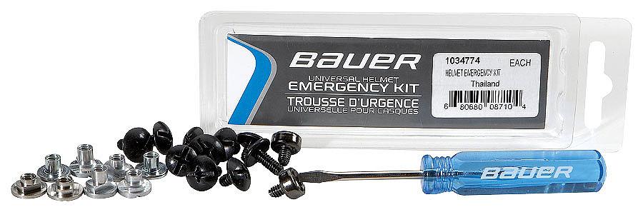 Набор запчастей для шлема BAUER Helmet Emergency Kit. 10347741034774Набор запчастей, винтов и крепежа для шлема.