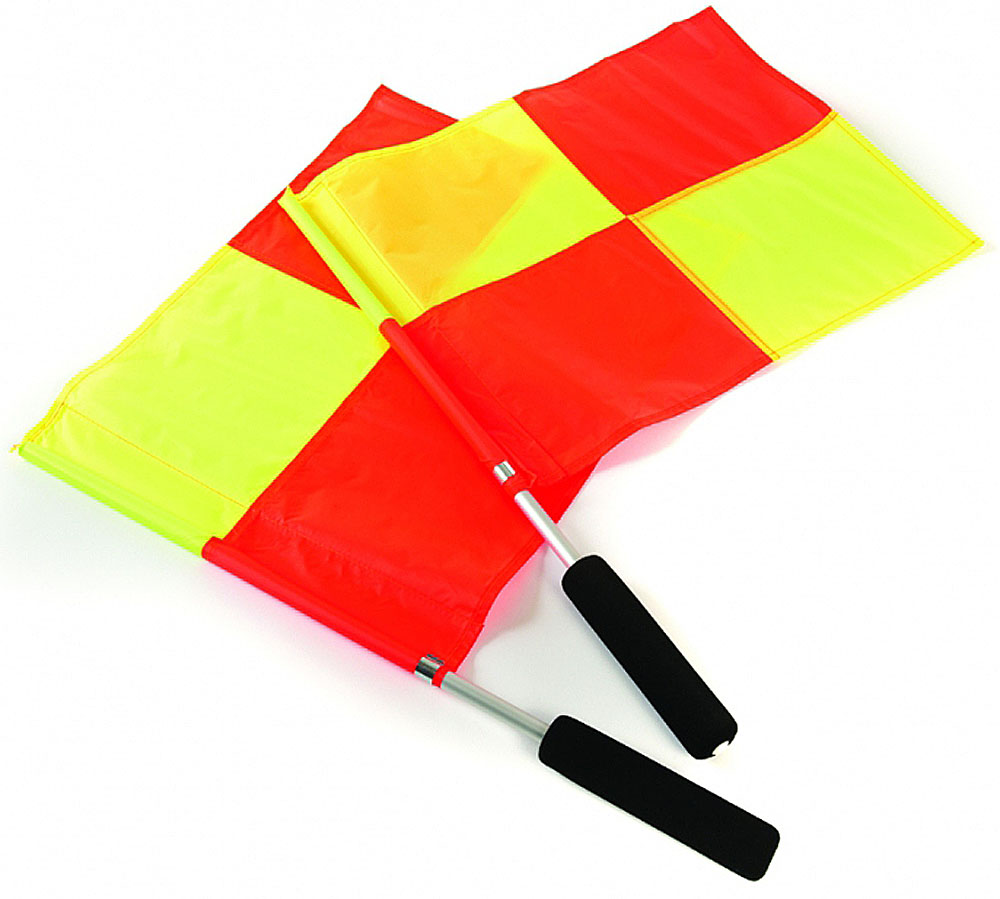 Флажки лайнсменов  Mitre , цвет: желтый, оранжевый, 2 шт - Аксессуары для командных видов спорта