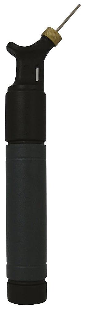 Насос для мяча  Mitre , двойного действия, цвет: черный, темно-серый - Аксессуары для командных видов спорта
