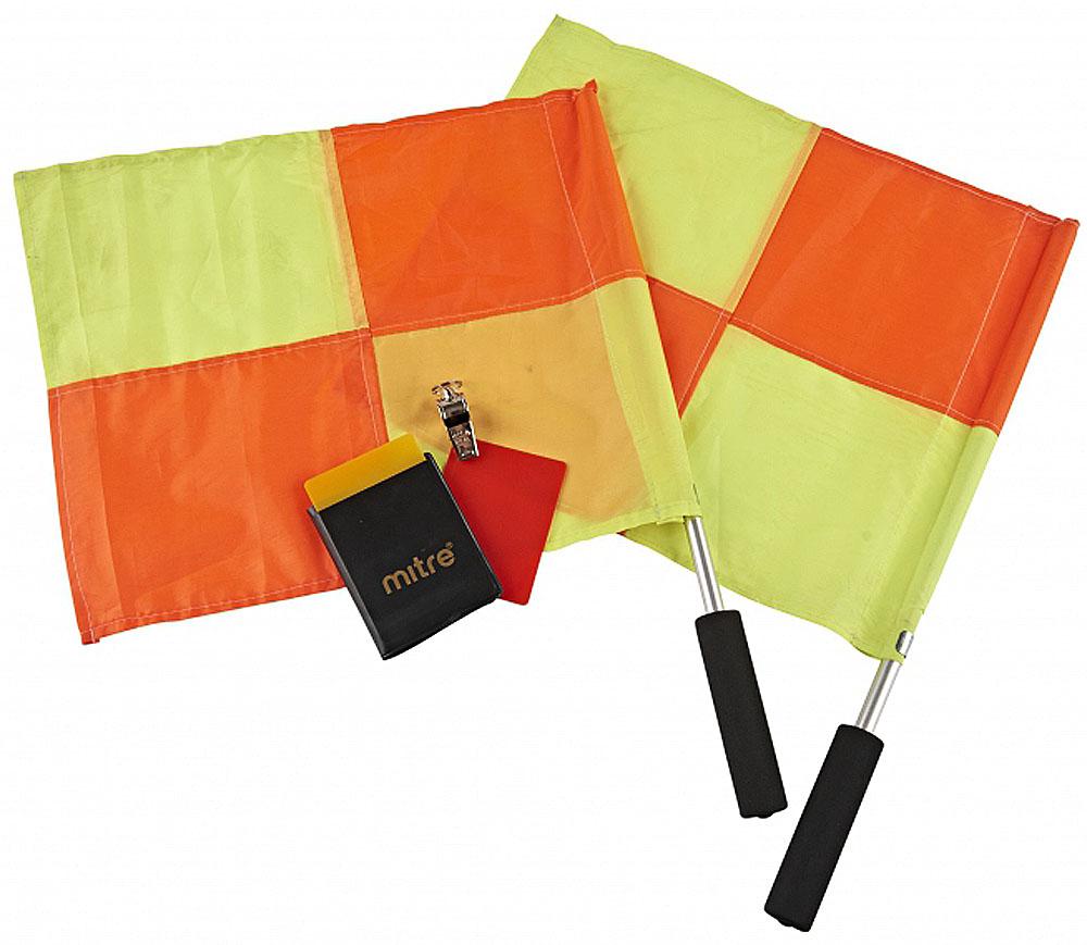 Судейский набор  Mitre , цвет: желтый, оранжевый, 4 предмета - Аксессуары для командных видов спорта