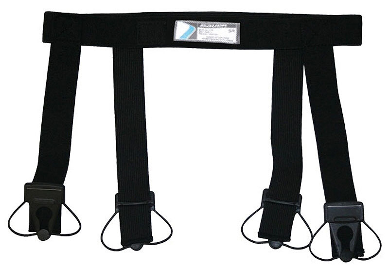 Пояс для гамаш Bauer, цвет: черный. 1035813. Размер L/XL1035813Хоккейный пояс для гамаш Bauer с резинкой. Регулируется по размеру.
