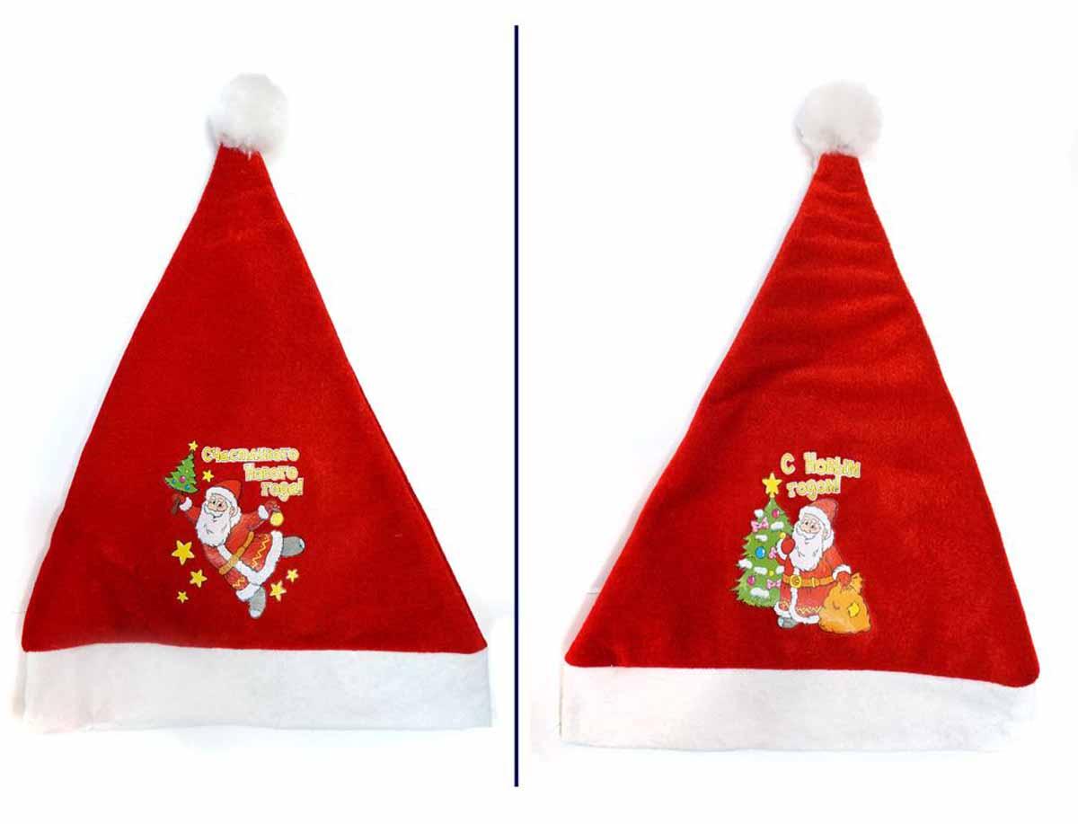 Новогодняя сказка Колпак новогодний 40 см -  Колпаки и шляпы
