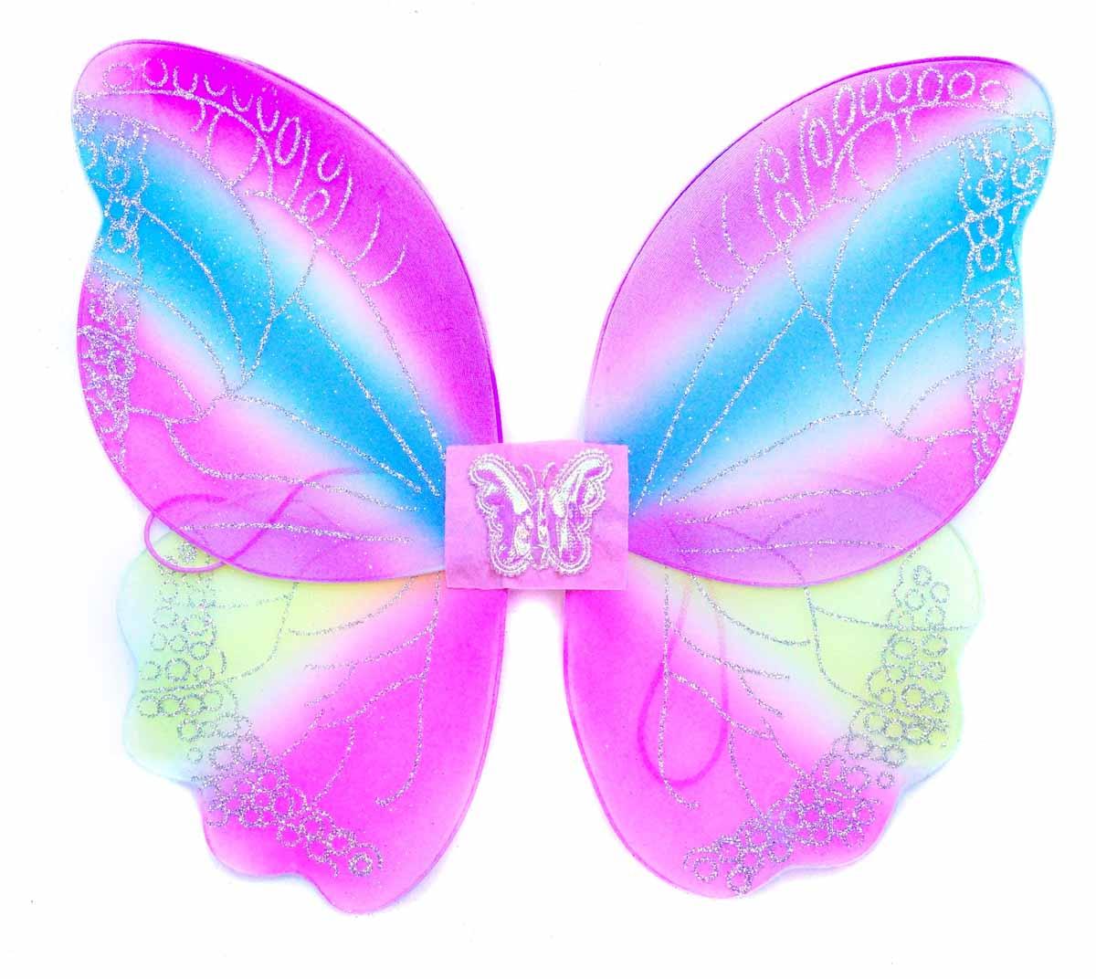 Новогодняя сказка Крылья карнавальные Бабочка цвет фиолетовый 972590