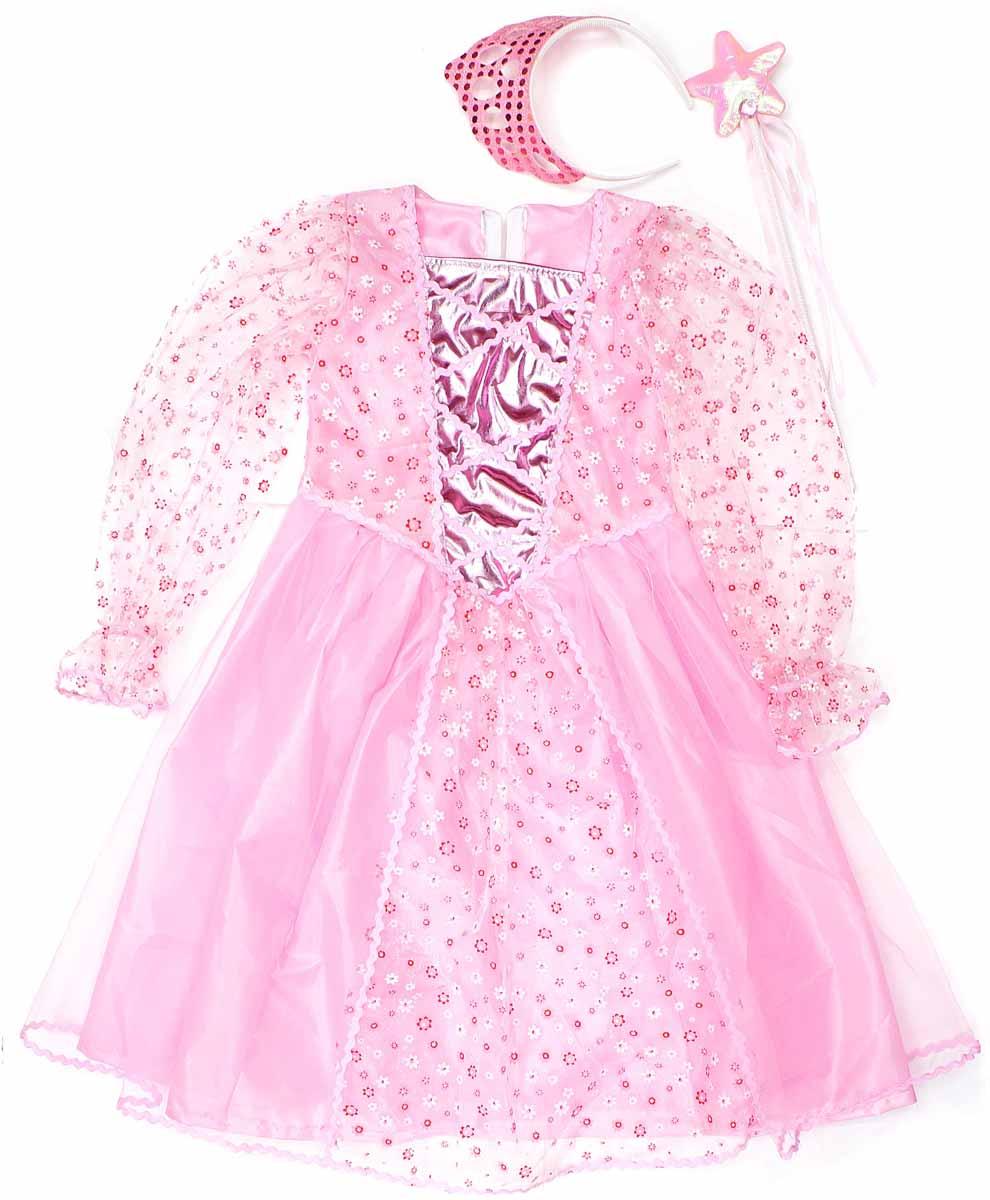 Фото Новогодняя сказка Костюм карнавальный Принцесса цвет розовый 972146