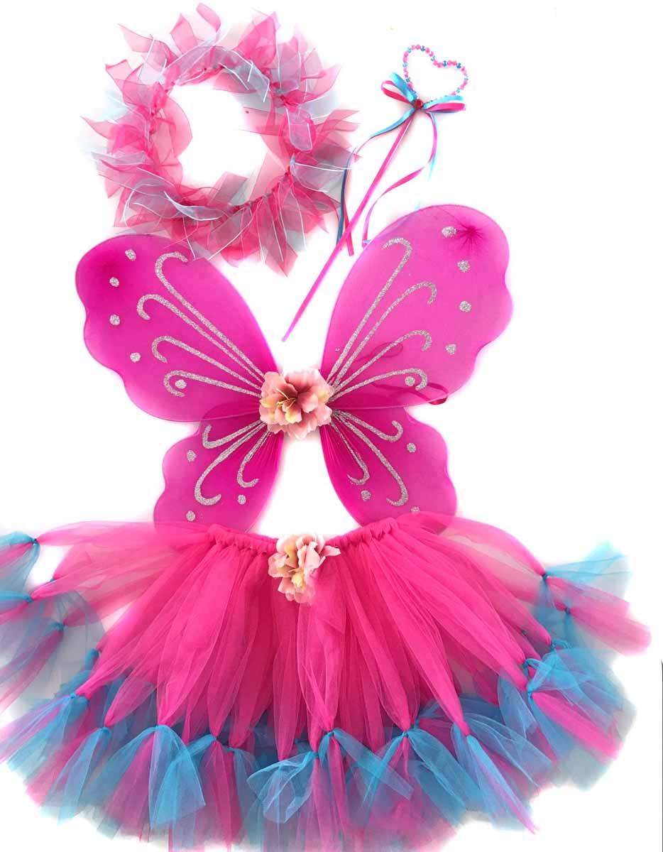 Новогодняя сказка Костюм карнавальный Фея цвет розовый креатто мозаика волшебная фея