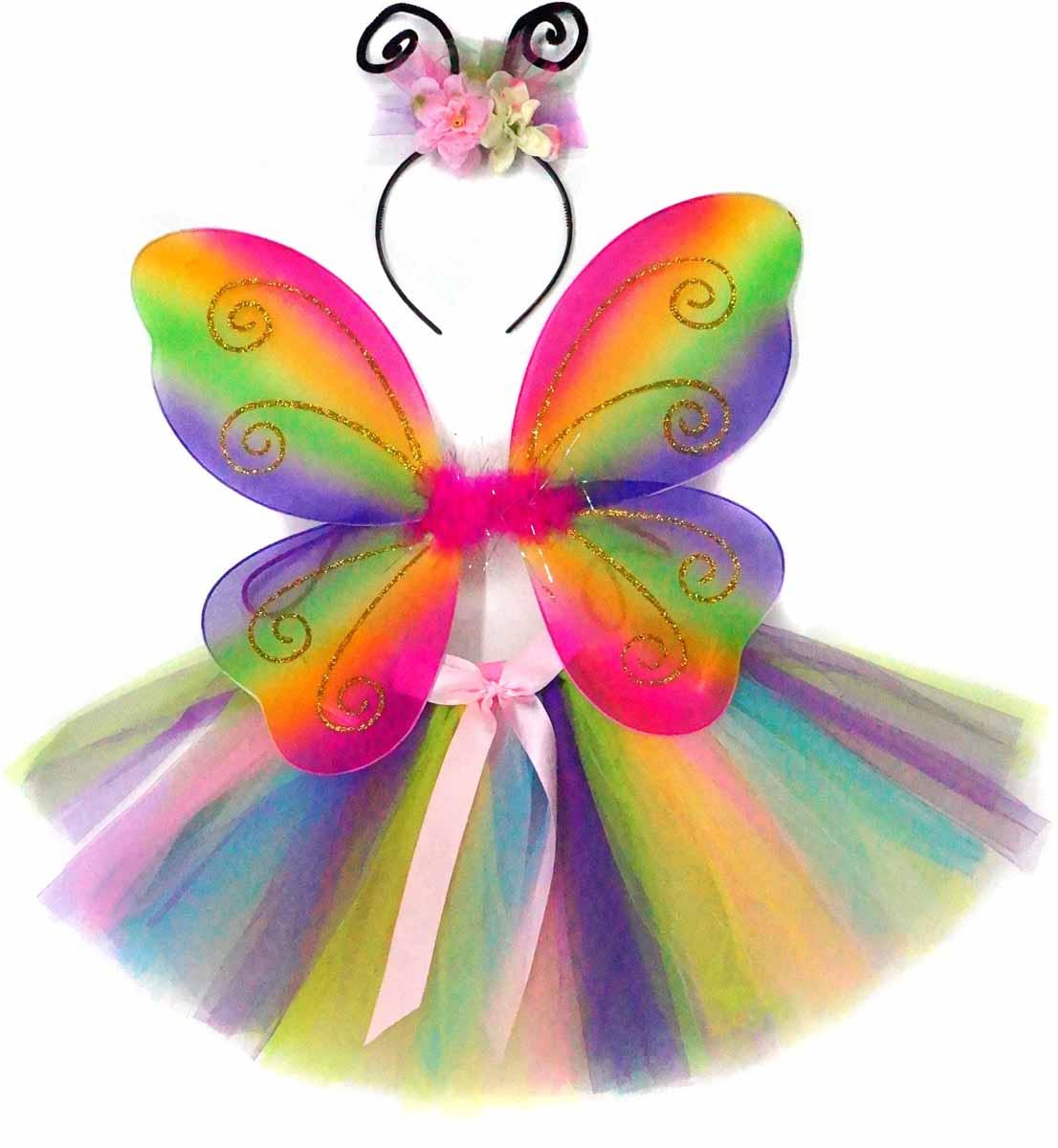 Новогодняя сказка Карнавальный костюм для девочки Фея цвет мультиколор incity карнавальный костюм единорог