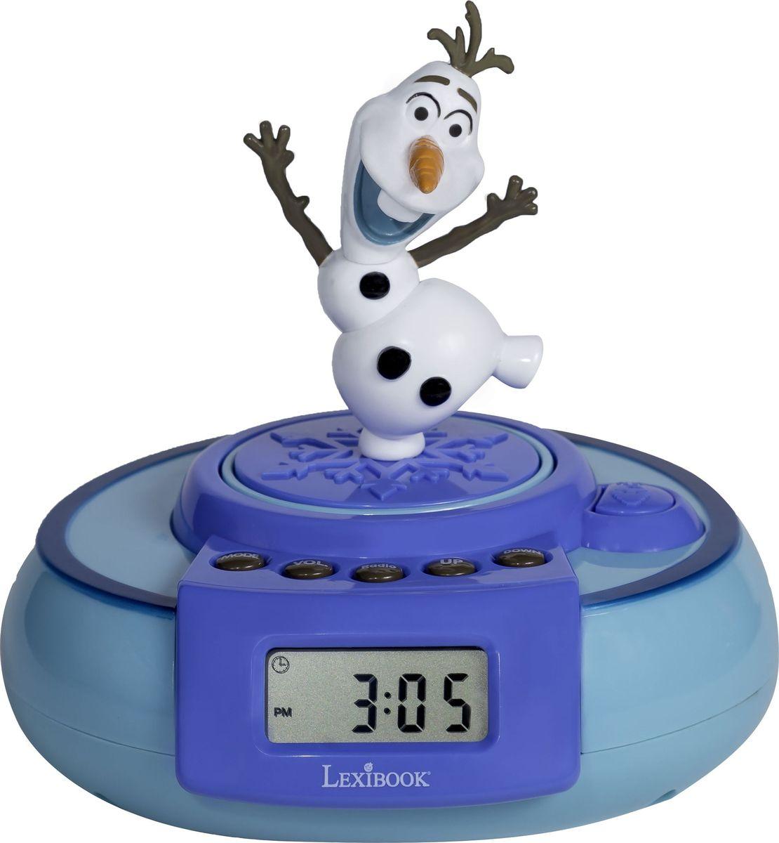 Lexibook Часы Холодное Сердце с выпрыгивающим Олафом - Радиобудильники и проекционные часы