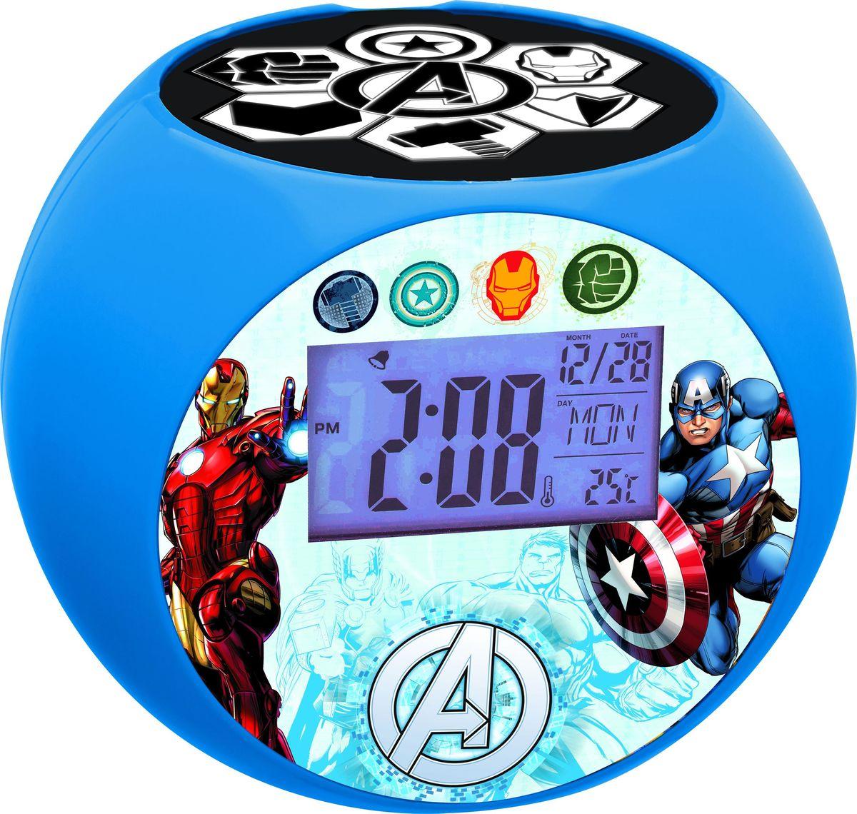 Lexibook Часы-прожектор Мстители - Радиобудильники и проекционные часы