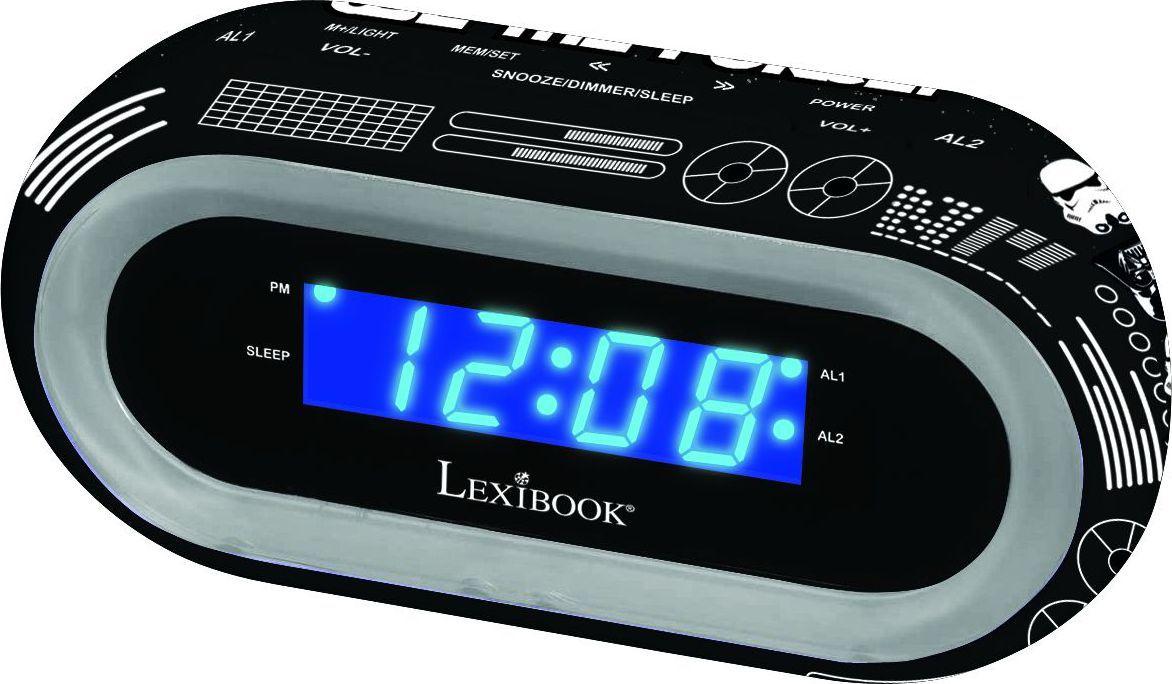 Lexibook Часы-будильник Звездные Войны - Радиобудильники и проекционные часы