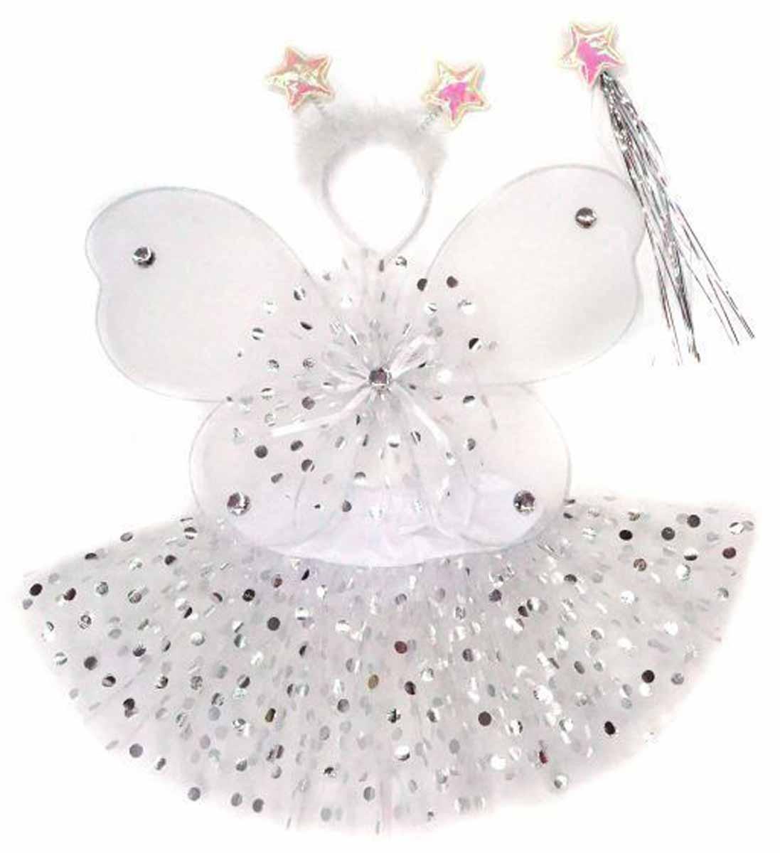 Новогодняя сказка Костюм карнавальный Снежинка цвет белый incity карнавальный костюм единорог