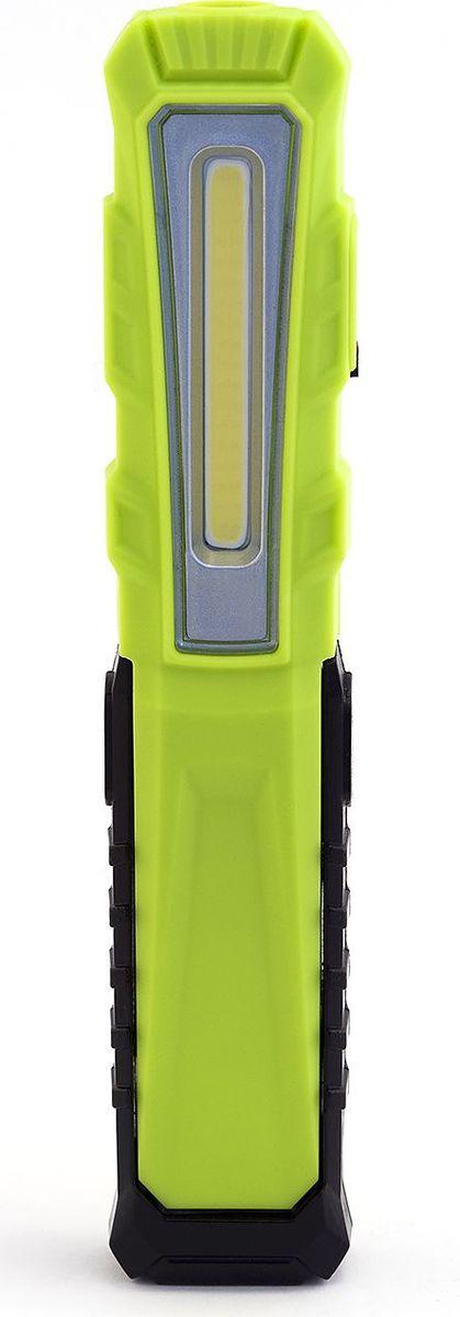 Фонарь ручной Яркий луч Оptimus Аccu Slim, 15,3 х 3 х 2,1 см4606400105831Многофункциональный аккумуляторный светодиодный фонарь Яркий луч Оptimus Аccu Slim компактного размера.Два режима работы. Дальний свет: SMD светодиод (60 лм) обеспечит направленным светом дальнего действия, время работы 3.5 часа. Включается нажатием и удержанием (3 сек) кнопки включения. Ближний свет: COB светодиод (120 лм) - рассеянный свет для местного освещения, время работы (макс.) 2 часа.Возможность регулировки положений (5 вариантов) относительно опоры фонаря. Сильный магнит позволит закрепить фонарь на металлической поверхности под любым углом для удобства работы. На задней грани корпуса находится клипса для кармана. Встроенный литий-ионный аккумулятор 3.7 В 750 мАч. В комплект входит USB-кабель для зарядки аккумулятора. Светодиодная индикация уровня заряда.Характеристики:SMD cветодиод 60 лм в головной части для направленного света.СОВ светодиод 120 лм на боковой грани для местного освещения.Стабилизированный световой поток.Встроенный литий-ионный аккумулятор 3.7 В, 750 мАч.Сильный магнит для удобного размещения на металлической поверхности.Регулировка положений фонаря относительно опоры.Крепкий ударопрочный пластиковый корпус с резиновым покрытием.USB-кабель для зарядки аккумулятора (в комплекте).Индикация уровня заряда аккумулятора.