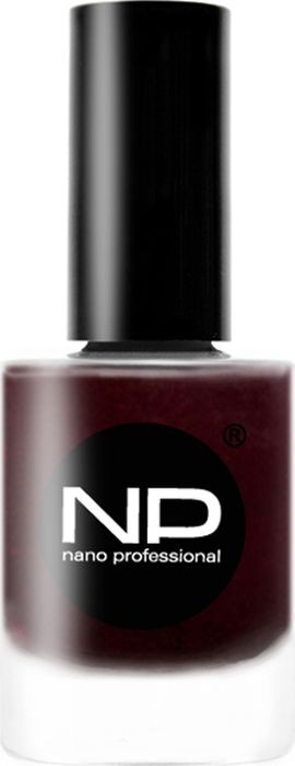 Nano Professional Лак для ногтей, P-109 заветное желание, 15 мл000822Коричнево-баклажанный оттенок, на солнце - ближе к коричневому, в тени - к баклажанному. В помещении и при искусственном освещении выглядит почти чёрным.