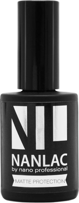 Nano Professional Гель-лак защитный Nanlac Matte Protection, 15 мл мастурбатор nano toys nano